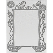 Couture Creations Embossing Folder A2-Frame - Hearts Ease