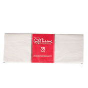 Christmas Holiday Classic White Tissue Paper, 4 - 35-Sheet Packs