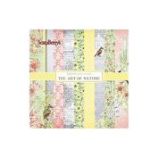 ScrapBerry's The Art Of Nature Paper Pack 15cm x 15cm 12/Pkg-Single-Sided