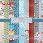 ScrapBerry's 15cm x 15cm Paper Pad - Once Upon a Winter