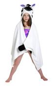 ZOOCCHINI Ziggy the Zebra Hooded Towel