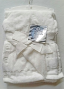 "White ""I Love You"" Baby Blanket by Baby Thro"