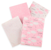 Carters Flannel Receiving Blankets, Pink Dreams