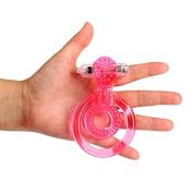 Unpre(TM) Clear Pe nis Rings Pe nis Extender 7 Speeds Waterproof G Spot Vi br ator Adult Se x Toy Se x products for men Pe nis anillo vibrador