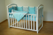 Handmade Baby Bedding Set For Boy Cotton Multicolor Crib Bumpers Handcrafted