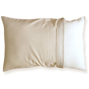 Toddler Pillow Case. No Dyeing, No Printing, 100% Organic - Global Organic Textile Standard