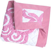 Oilo Bloom Quilt, Petal Pink