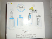 Twist Direct-Pump and Direct-Feed Breastmilk Storage Set