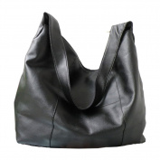 GS.Lee Stylish Womens Multi Zipper Pocket Oversized Shoulder Handbag Totes