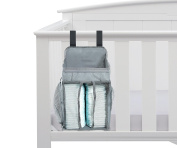 Baby Nursery Organiser - Nappy Organiser - Large Pockets - Space For Nappies & Wipes, Creams & Lotions