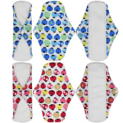 Menstrual Pads/Sanitary Pads 4 Pack Super Absorbency Reusable & Water Proof Pads
