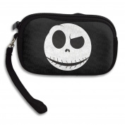 Nightmare Before Christmas Jack Skellington Mask Polyester Wristlets Clutches Cell Phone Bag Wallet Pouch