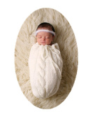 Baby Box Newborn Photography Crochet Wrap Outfit Props