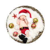 Baby Box Newborn Baby Photography Outfit Props,Red