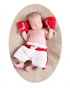 Baby Box Newborn Photography Outfit Prop Baby Boxing