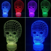 3D Night Lamp Skull