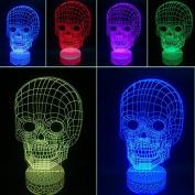 3D Night Lamp Skull