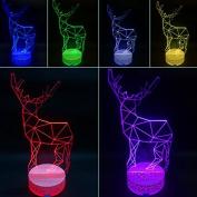 3D Night Lamp Deerlet