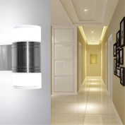 LED Wall Sconce Sunsbell 10W Bathroom Light Fixtures - Acrylic Up Down LED Wall Lamp