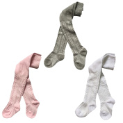 Gellwhu 3 Pairs Baby Girls Boys Legging Pants Tights Panties Stockings