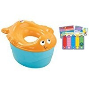 Fisher-Price 3-in-1 Potty, Goldfish Fun and Ginsey Sesame Street Potty Training Rewards Kit Thank you to all the patrons We hope that he has gained the trust from you again the next time the service