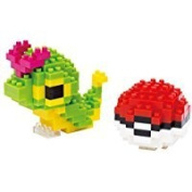 nanoblocks Nbpm010 Nb-Caterpie and Poke Ball - Pokem Building Kit Thank you to all the patrons We hope that he has gained the trust from you again the next time the service