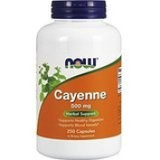 NOW Foods Cayenne, 500mg, 250 Vcaps Thank you to all the patrons We hope that he has gained the trust from you again the next time the service