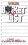 My Personal Bucket List