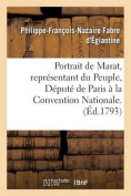 Portrait de Marat, Representant Du Peuple, Depute de Paris a la Convention Nationale.  [FRE]