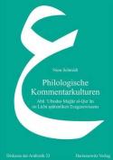 Philologische Kommentarkulturen [GER]