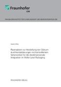 Plasmaatzen Zur Herstellung Von Siliziumdurchkontaktierungen Mit Kontrolliertem Seitenwinkel Fur Die Dreidimensionale Integration Im Wafer Level Packa [GER]