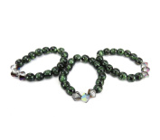 Mode Beads Coolwery Deluxe Jewellery Kit, Green Malachite