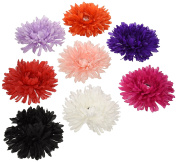 Trimweaver 8-Piece Gerbera Daisy with Acrylic Crystal Gem Variety Pack, 13cm