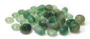 Linpeng Plastic Beads, Assorted Style Green