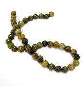Linpeng 10mm Mix Serpentine Stone Beads 38cm Strand_Ss-5