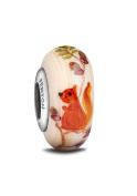 Fenton Glass Jewellery Bead, Scamper