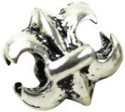 Midwest Design Imports Fleur De Lis Slider Paracord Charm, Silver