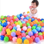 Efbock Baby Kid Toy Swim Pit Toy Colourful Ball Plastic Ocean Balls