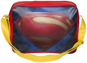 Superman Deluxe Shoulder Bag Retro Style Sports Bag