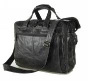 Jsix Mens Genuine Leather Handbags Briefcases Messenger Shoulder Bag