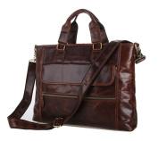 Jsix Mens Genuine Leather Handbags Briefcases Shoulder Bag Messenger