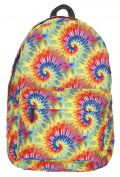Kukubird Tie Dye Design Pattern Rucksack Backpack