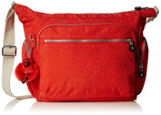 Kipling Womens Gabbie Cross-Body Bag Coral Rose C, One Size