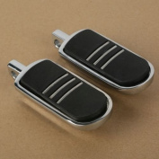 Tengchang StreamLiner Styled Chrome Footpeg Foot peg For Harley Road King 1994-2013 95 12