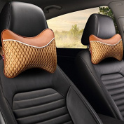 Calcifer Brand New Fashion Comfortable Memory Foam Head Massage Car Neck Pillow Headrest Seat#CP001