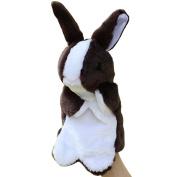 "Tayima Plush Stuffed Super Soft Rabbit Zoo Animals Gift Hare Toy Children Doll Birthday Gift Rabbit Hand Puppet(30cm/11.8"")"