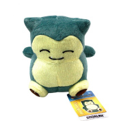Pokemon Snorlax Soft Stuffed Plush Doll Anime Cute Pocket Monster Animal Figure Toy Collectible Gift for kids 15cm