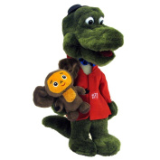 "Crocodile Gena with Cheburashka Plush Toy 12.6"" / 32cm from cartoon cheburashka"