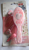 The Secret Life of Pets~hairbrush & clips~set~pink~girls~at Risk~kiss
