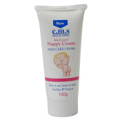 1x C.M.S Medical Medicated Nappy Rash Baby Soothing Skin Care Cream Tube 100g